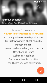 QuickLyric - Instant Lyrics screenshot 3