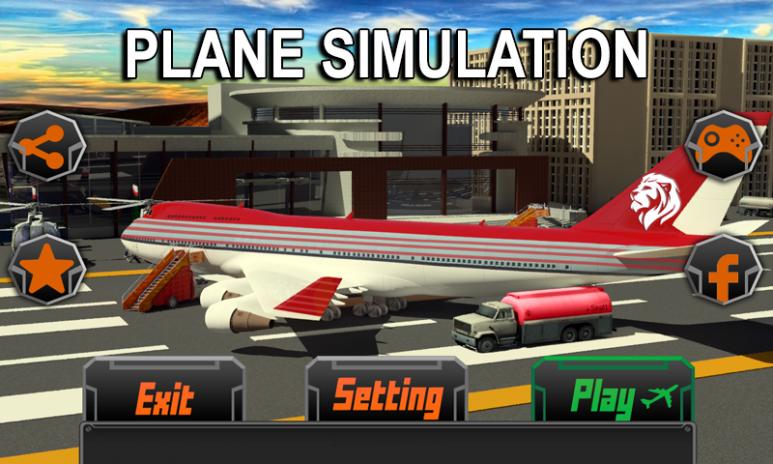 تحميل APK لأندرويد - آبتويد Pilot Plane Flight Simulator 3D