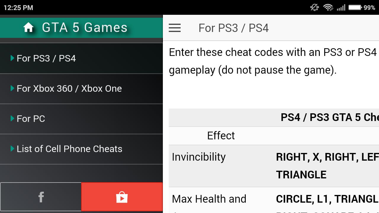 cheat codes gta 5 pc