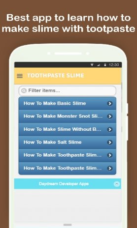 DIY Slime with Toothpaste Tutorials Step by Step 1 0