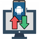 PC to Mobile Transfer - Dateien überall senden Icon