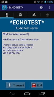 EchoLink screenshot 4