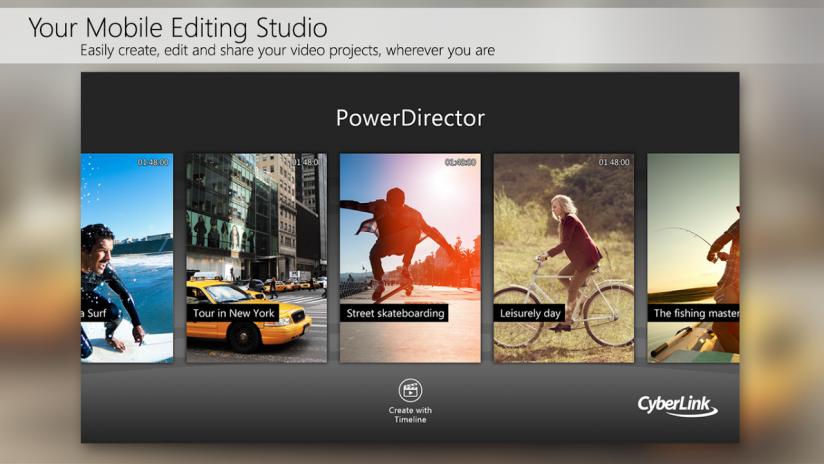 PowerDirector - Video Editor App, Best Video Maker6 0 0 tải APK dành