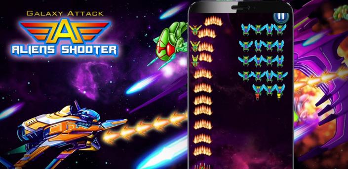 Galaxy attack alien shooter scarica apk per android for Le navicelle spaziali