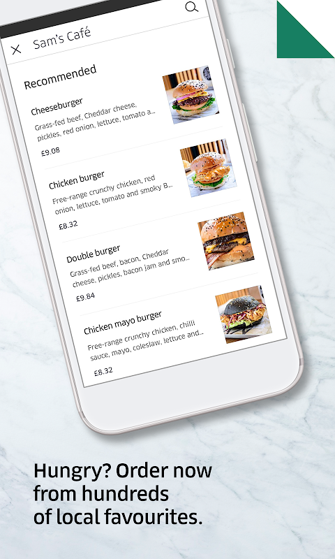 Uber Eats: Local food delivery screenshot 2
