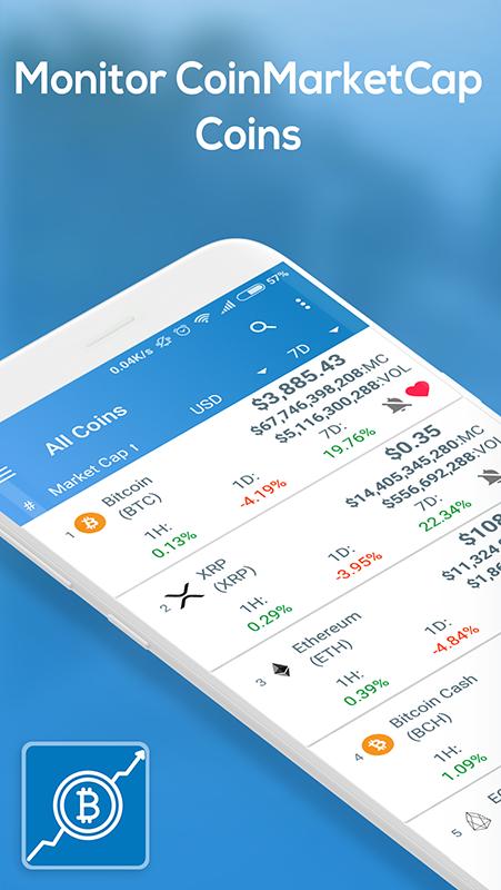 Coin Market Cap - Crypto Market, Bitcoin Prices, Ethereum screenshot 1