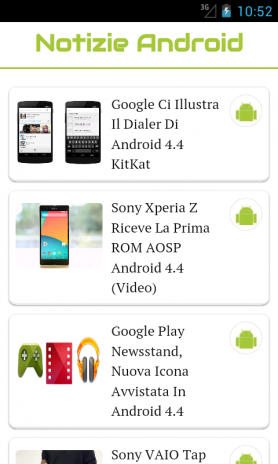 Notizie Android Italia 1 0 Download APK for Android - Aptoide