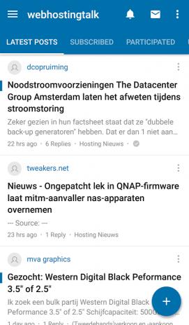 Webhostingtalk nl Forum App5 2 15 tải APK dành cho Android