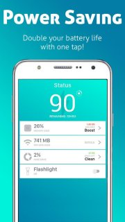 iBattery Saver - Boost & Clean screenshot 1