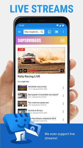 Web Video Cast   Navegador para TV/Chromecast/Roku screenshot 8