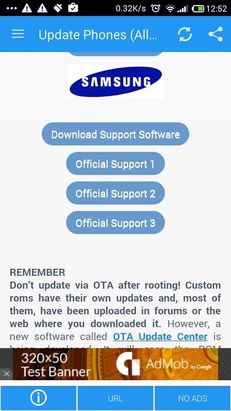 Actualizar Telefono (Todas las operadoras) screenshot 2