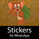 Tom and Jerry Stickers for WhatsApp