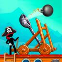 A Catapulta: Confronto com Piratas