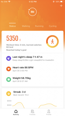 Mi Fit 4 0 6 Download APK for Android - Aptoide