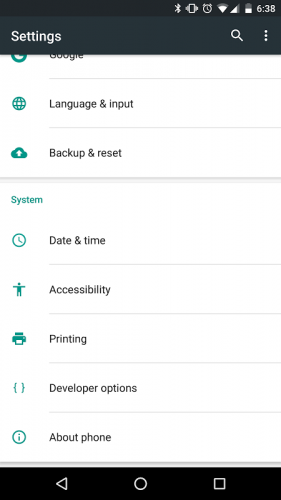 Android Accessibility Suite screenshot 1