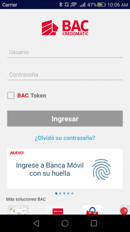 Banca mvil bac credomatic 1291 download apk for android aptoide banca movil bac credomatic screenshot 1 thecheapjerseys Image collections