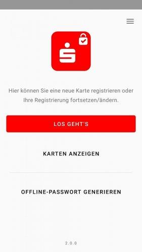 Check kann registriert diese nicht id werden karte s Neue Sparkassen