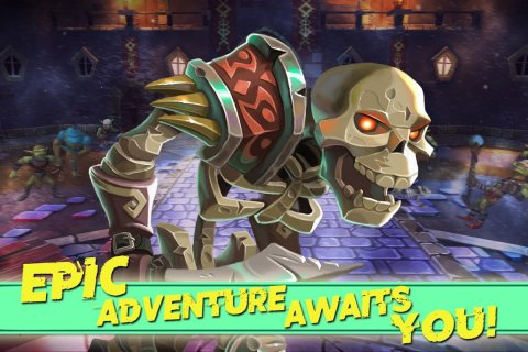 Dungeon Legends - PvP Action MMO RPG Co-op Games screenshot 1