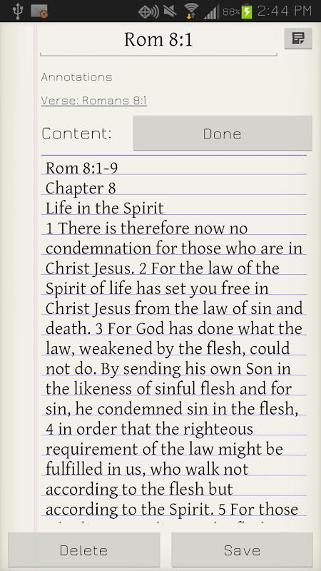 Amplified: The Bible Study App screenshot 1