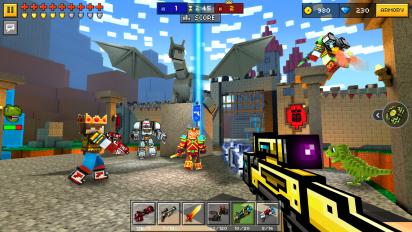 pixel gun 3d pocket edition screenshot 14