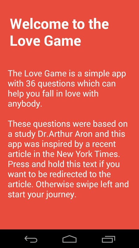 Love Game screenshot 1