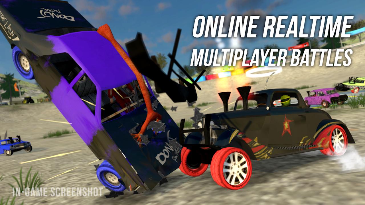 Demolition Derby Multiplayer screenshot 2