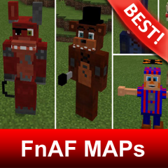 Map of FnAF PETs Mod for Minecraft MCPE 1 7 Download APK for Android