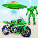 Spaceship Robot Bike Game 2021