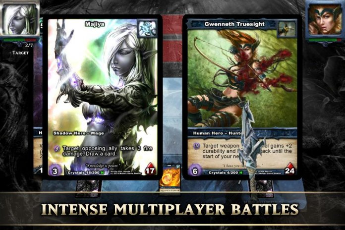 Card lords tcg card game apk download from moboplay.