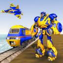 Euro Train Robot Transform