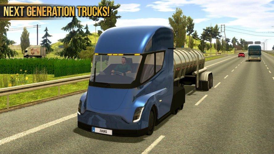 Camion Simulador 2018 : Europe screenshot 5