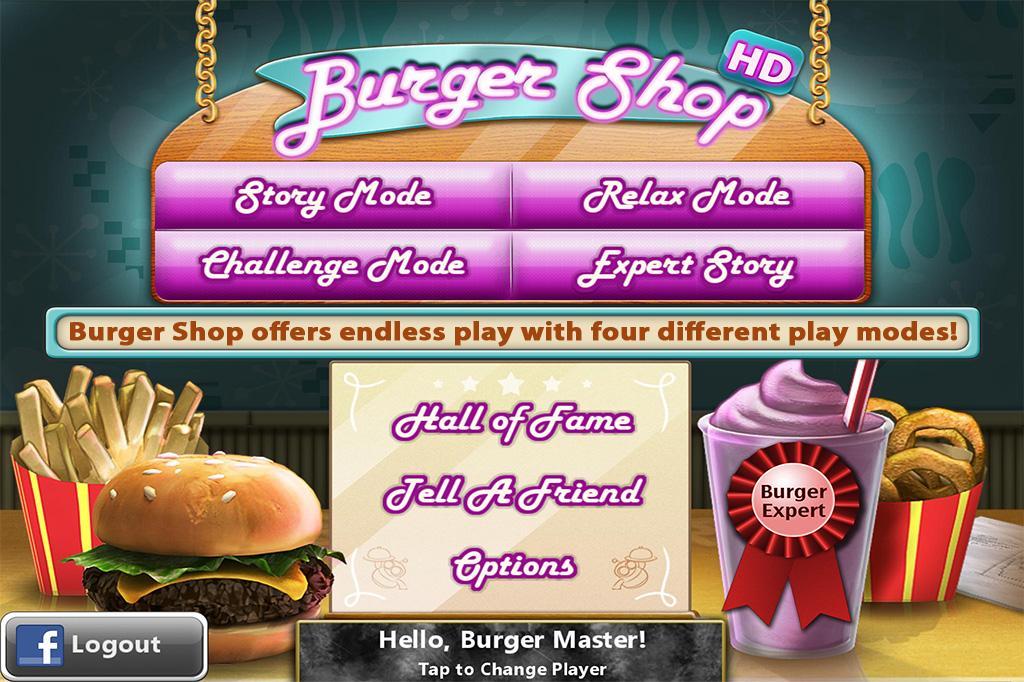 Burger Shop screenshot 2