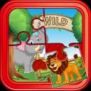 Wild Animals PuzzleFor Kids