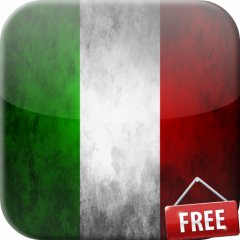 flag of italy live wallpaper icon