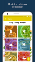 Soup & Curry Recipes: Healthy Nutritious Diet Tips Screen