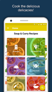Soup & Curry Recipes: Healthy Nutritious Diet Tips screenshot 2