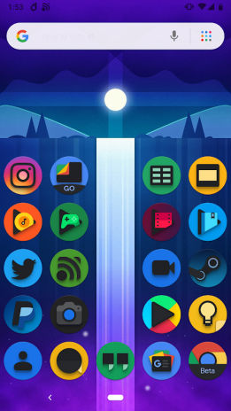 Baked - Dark Android Pie Icon Pack 2 1 Download APK for