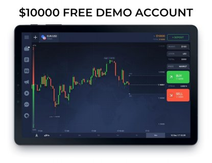 IQ Option broker: trade forex, CFD�s, bitcoin screenshot 7