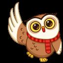 🦉Cute Owl Stickers - WAStickerApps