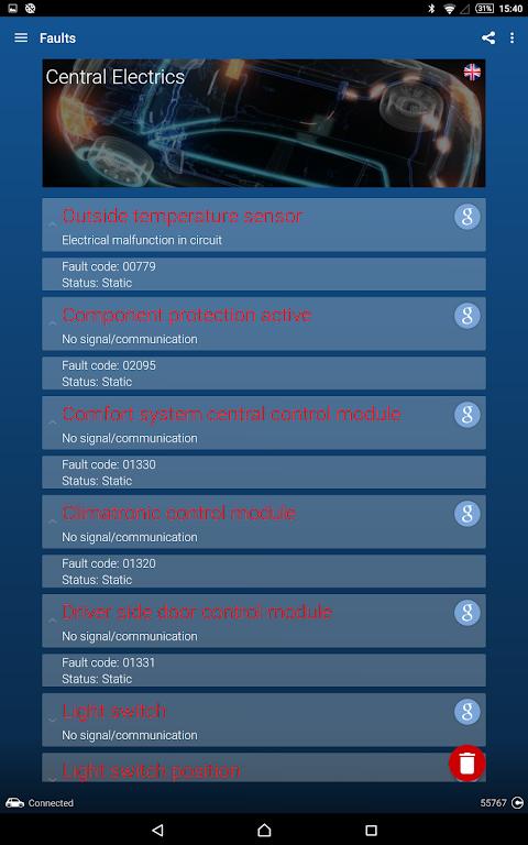 OBDeleven PRO car diagnostics app VAG OBD2 Scanner screenshot 12