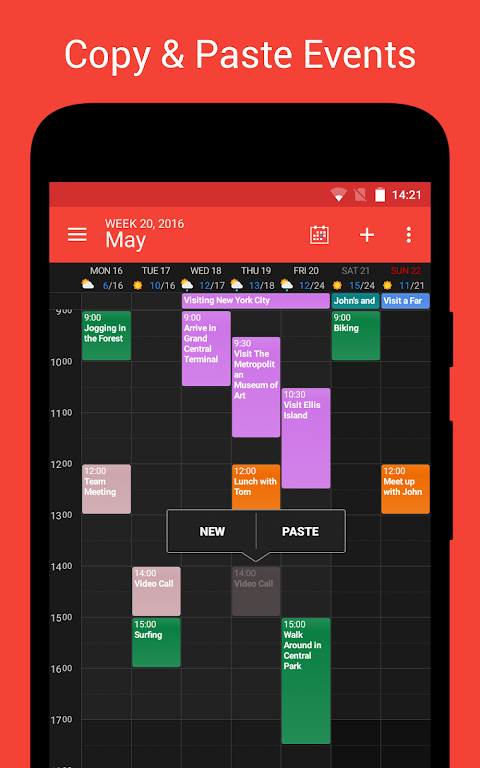 DigiCal Calendar screenshot 3