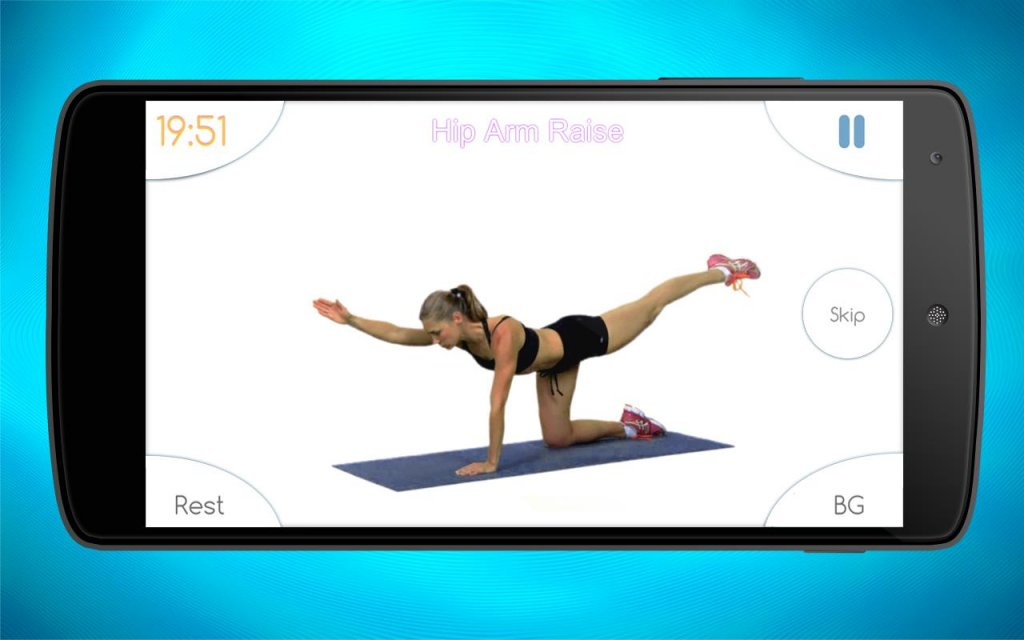 Women workout home gym fitness download apk for android