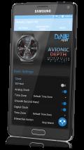 Avionic Depth HD Watch Face Screenshot