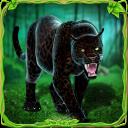 Wütende panther familie sim