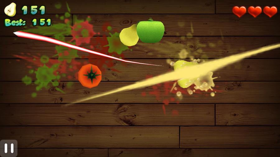Fruit Cut 3D screenshot 1