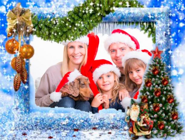 Fotorahmen Weihnachten.Frohe Weihnachten Bilderrahmen 10 0 Laden Sie Apk Für Android