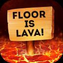 Floor is Lava Simulator Parkour 3D