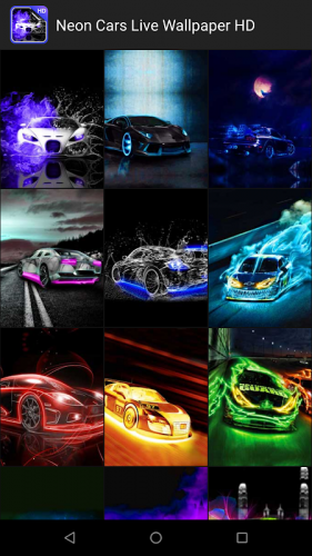 Neon Cars Live Wallpaper 2 8 Download Android Apk Aptoide