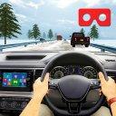 Guida al traffico VR in auto: giochi virtuali