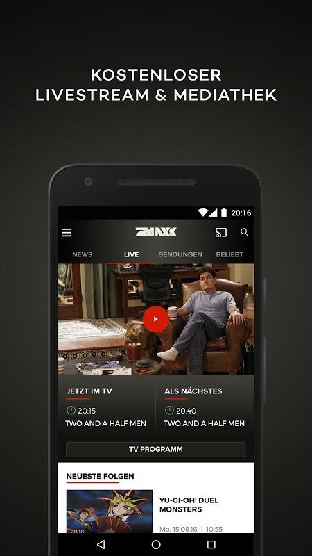 ProSieben MAXX – TV, Mediathek screenshot 1